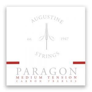 Augustine Paragon Medium Tension Carbon Trebles