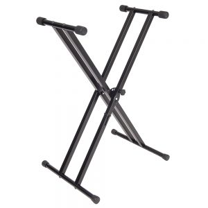 Kinsman  Standard Series Double Braced Keyboard Stand