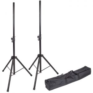 Kinsman Standard Series Speaker Stand – Pair with Carry Bag