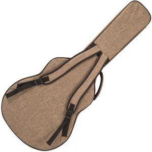 Kinsman Ultima™ Hardshell Jumbo Guitar Bag ~ Brown