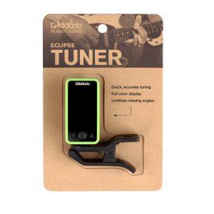 D'Addario Eclipse Headstock Tuner, Green