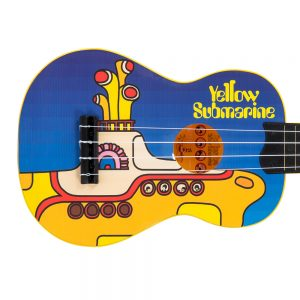 The Beatles Yellow Submarine Ukulele ~ Blue
