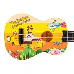 The Beatles Yellow Submarine Ukulele ~ Yellow