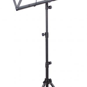 TGI Music Stand in Bag. Black