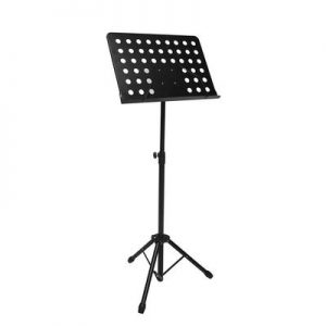Boston metal music stand with perforated desk (49x34cm)
