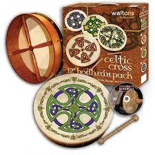 Waltons 15″ Celtic Cross Bodhran Pack | Brosna Cross