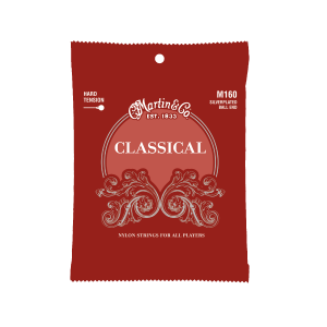 Martin Strings – Classical Ball End – Silverplated ( Hi Tension )