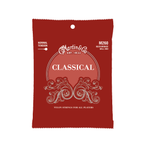 Martin Strings – Classical Ball End – Bronze Wound ( Reg Tension )