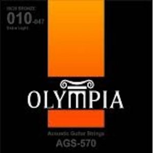 Olympia AGS-570 Acoustic String Set | Light