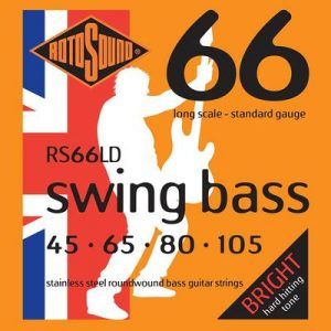 Rotosound Swing Bass 66 string set electric bass stainless steel 45-105