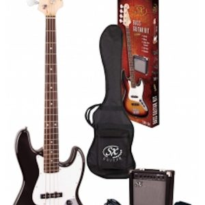 SX Jazz Bass Kit | Black