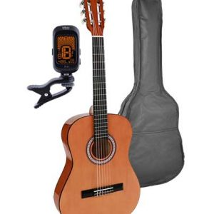 Salvador 3/4 scale classical guitar pack