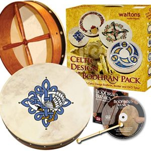 Waltons 12″ Celtic Design Bodhrán Pack | Design Choice