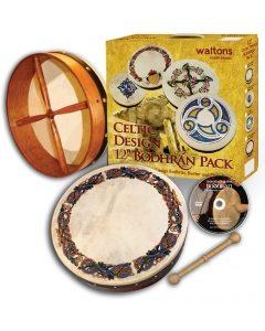 Waltons 15″ Celtic Design Bodhran Pack | Animals